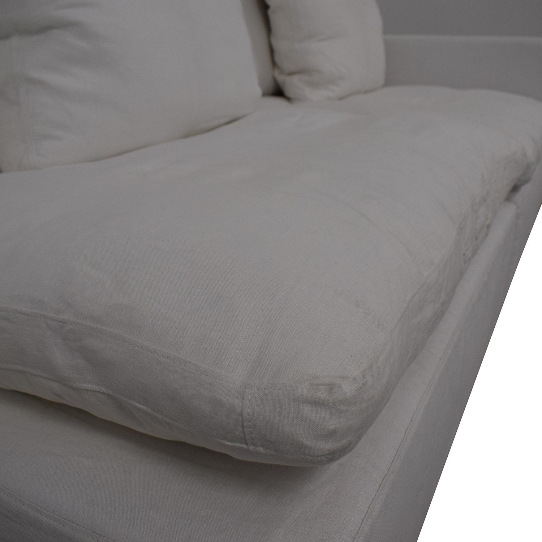 shop Restoration Hardware Restoration Hardware Left Arm Modular Sofa online