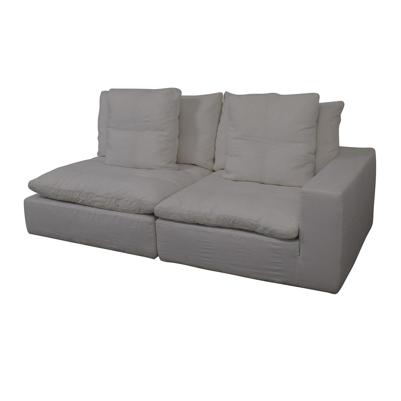 Restoration Hardware Restoration Hardware Left Arm Modular Sofa on sale