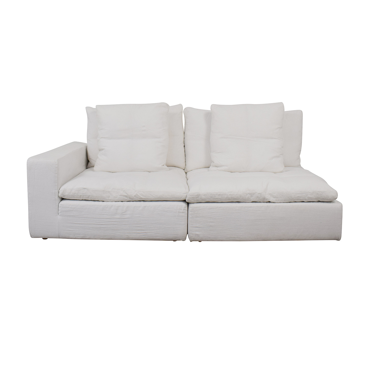 Restoration Hardware Cloud Modular Corner Chair and Armless Chair / Sofas