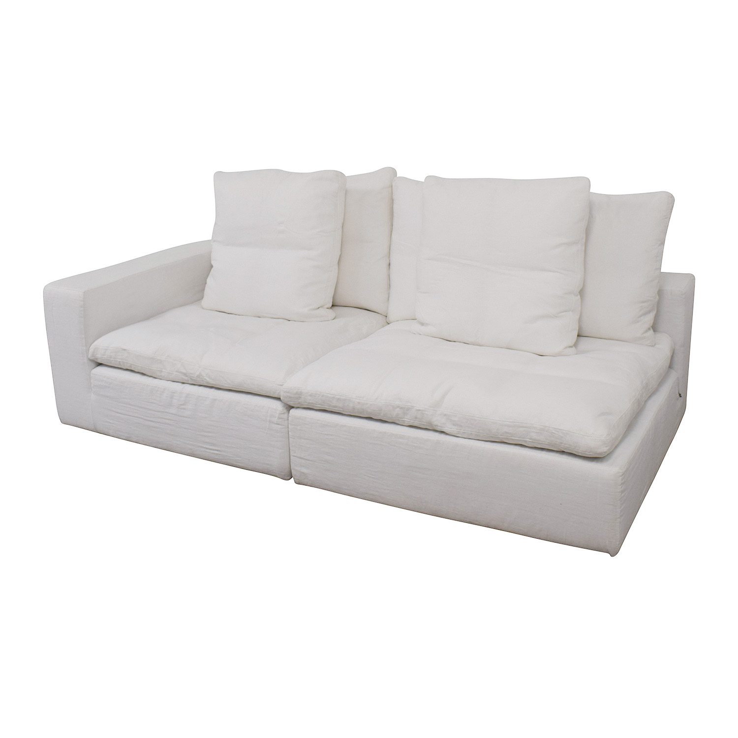 buy Restoration Hardware Restoration Hardware Cloud Modular Corner Chair and Armless Chair online