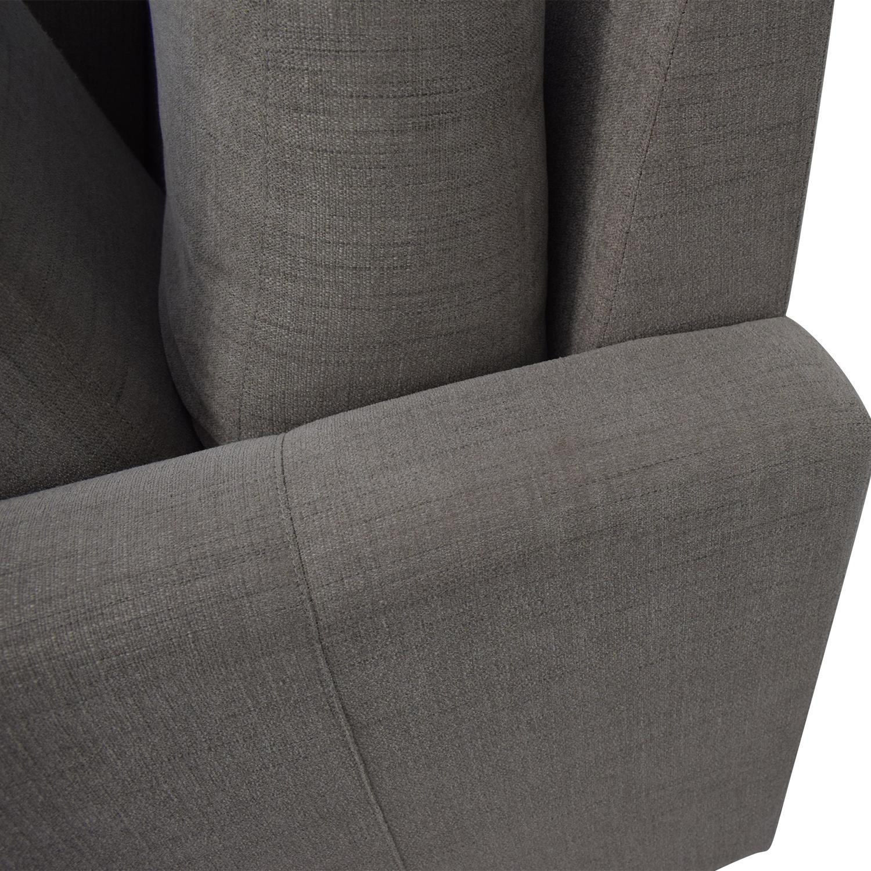 Room & Board Berin Wide Arm Sofa sale
