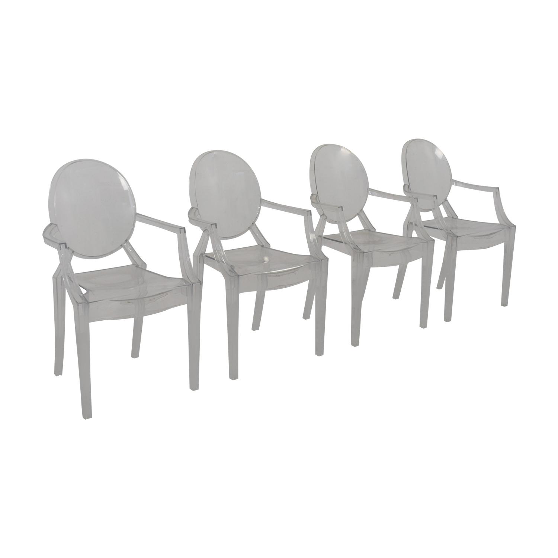 Poly & Bark Poly & Bark Ghost Style Acrylic Arm Chair coupon
