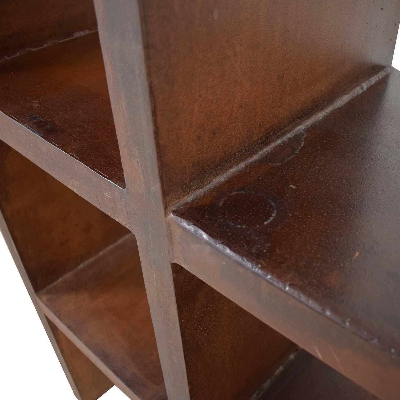 shop Artisan Metal Bookcase  Storage
