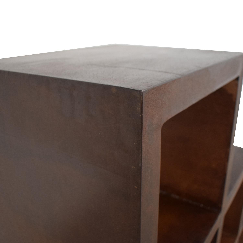 buy Artisan Metal Bookcase