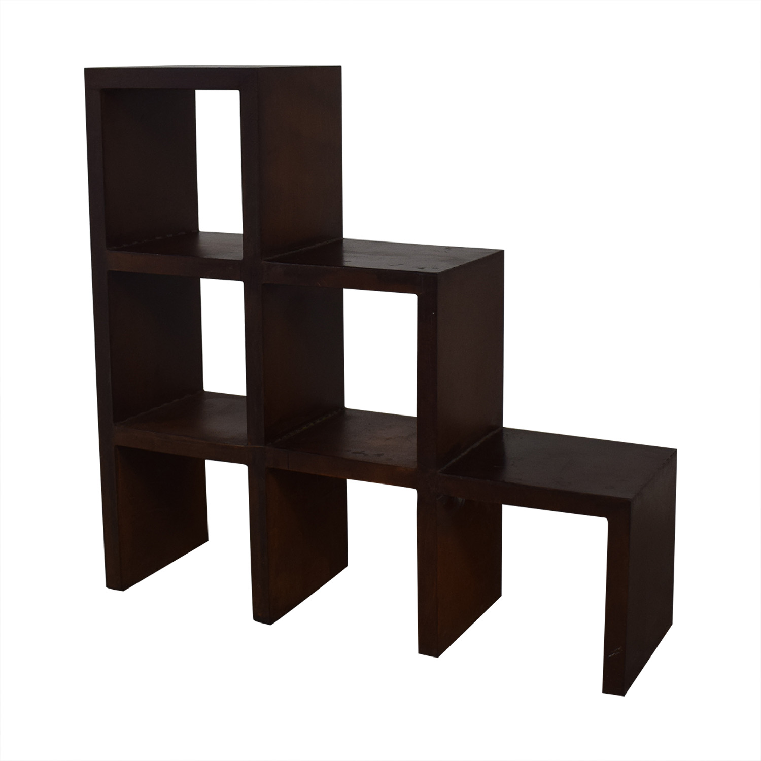 buy Artisan Metal Bookcase  Bookcases & Shelving