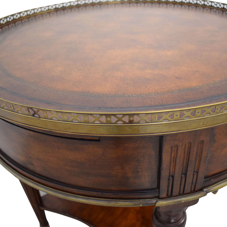 John Richard John Richard European Crossroads Bouillotte Table for sale