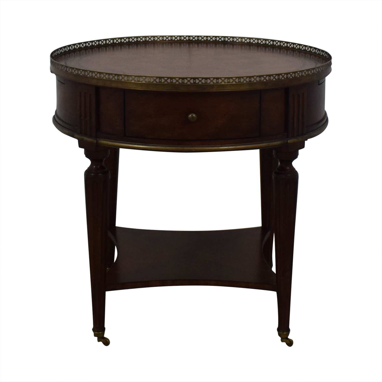 John Richard John Richard European Crossroads Bouillotte Table dimensions