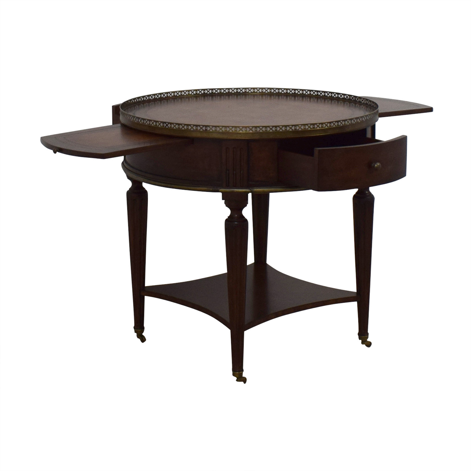 John Richard John Richard European Crossroads Bouillotte Table coupon