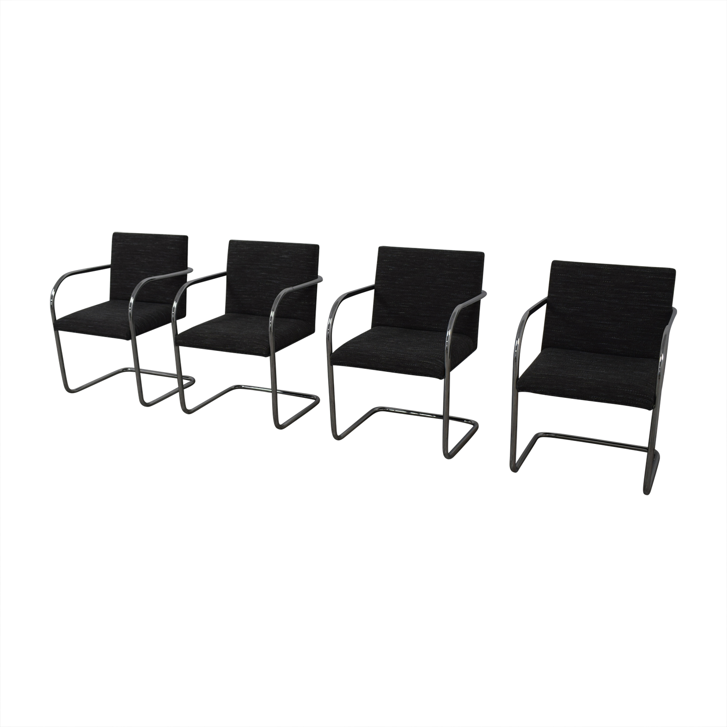 buy Chrome Upholstered Office Chairs