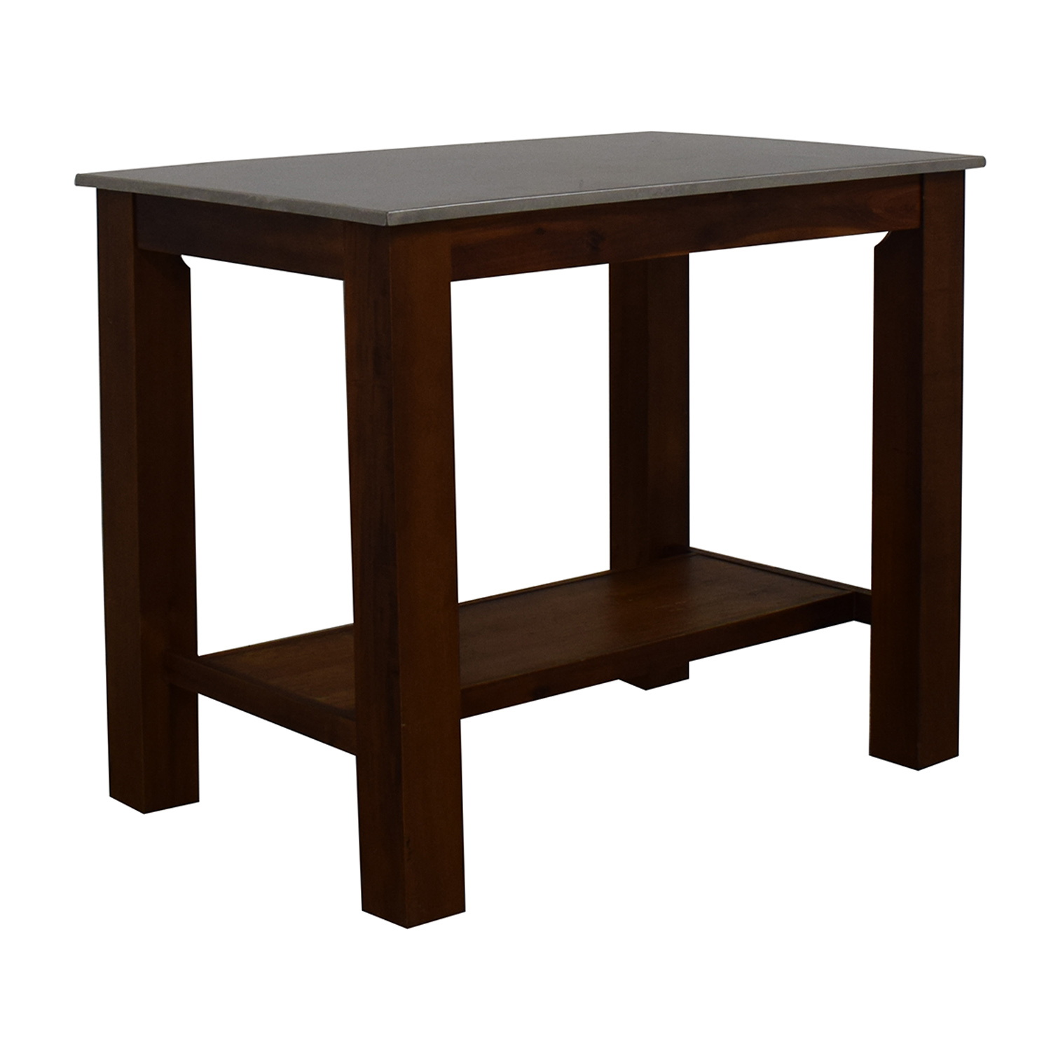 shop West Elm Rustic Kitchen Island West Elm Tables