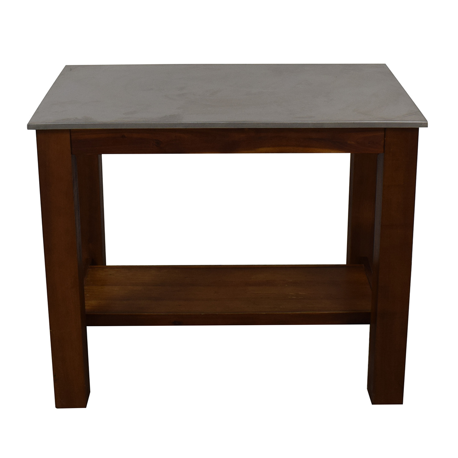 West Elm West Elm Rustic Kitchen Island for sale