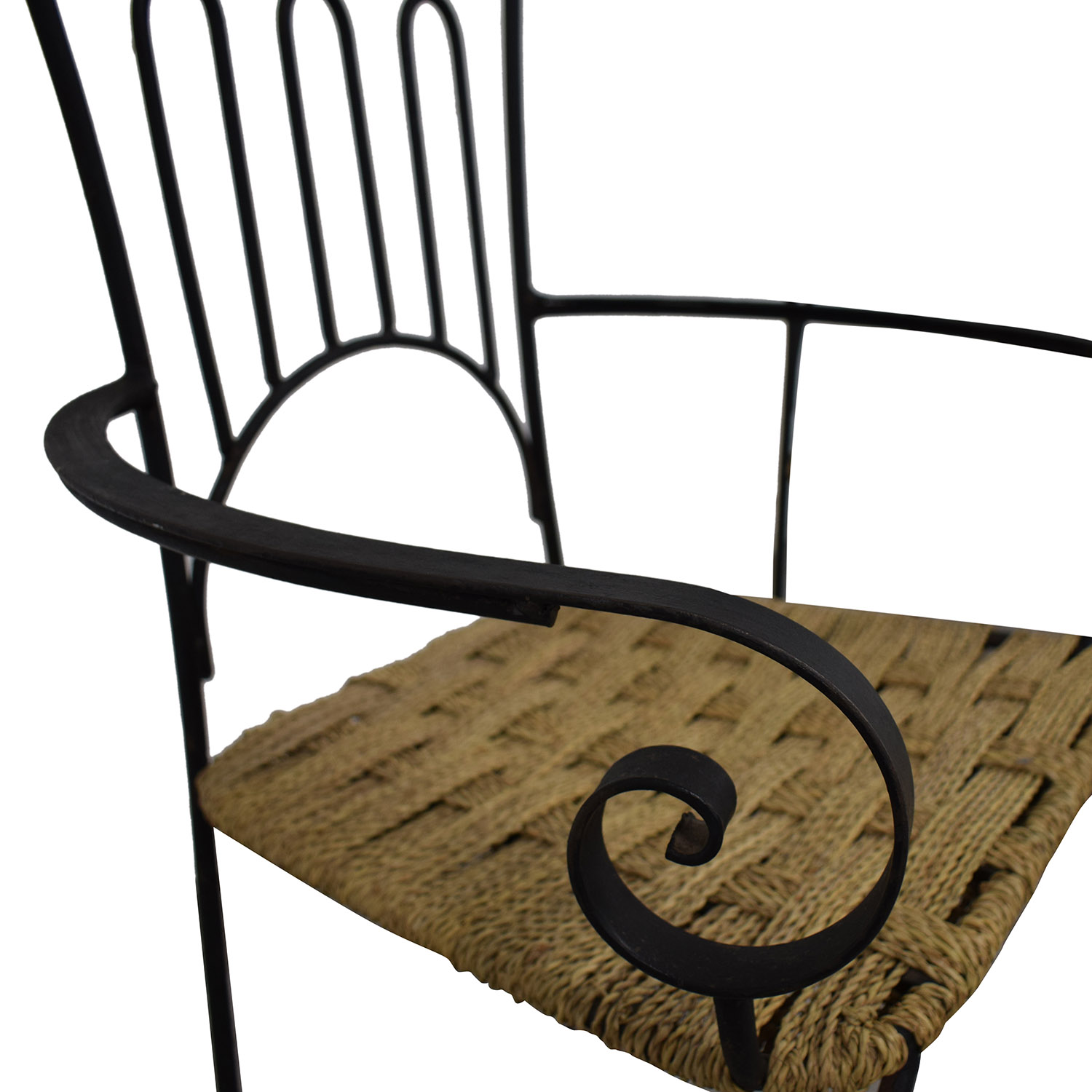 buy Iron Bistro Chair Set  Dining Chairs