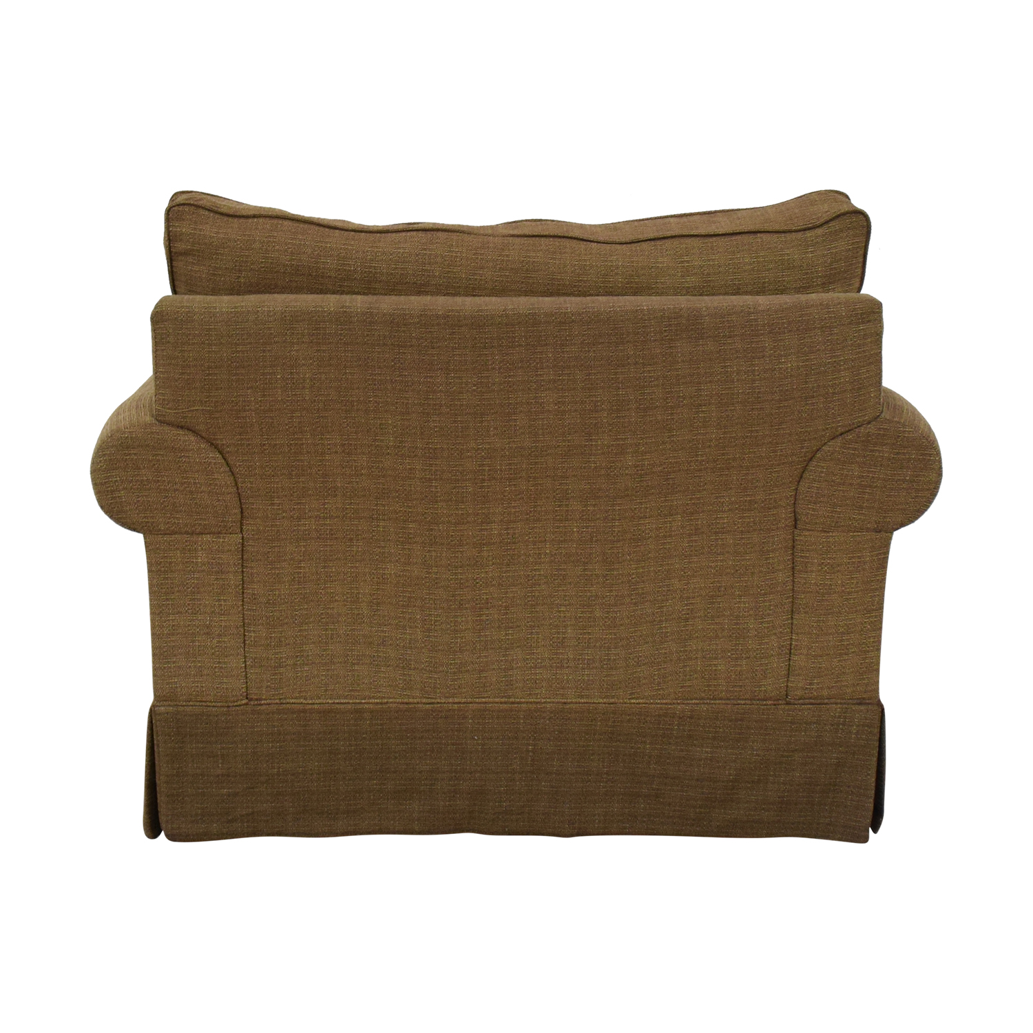 buy Raymour & Flanigan Brown Armchair Raymour & Flanigan Accent Chairs