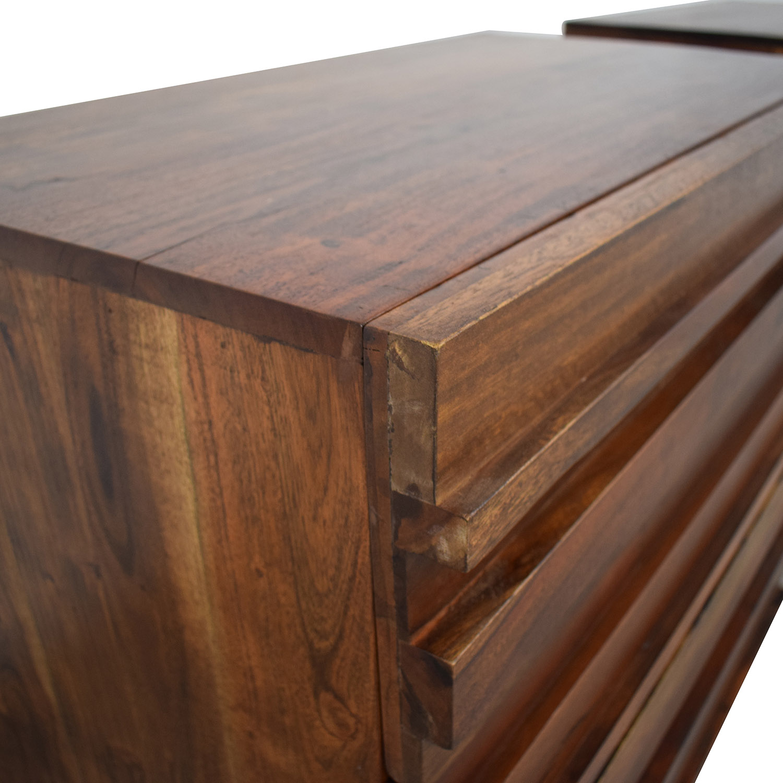 buy West Elm Stria Three-Drawer Dressers West Elm Dressers
