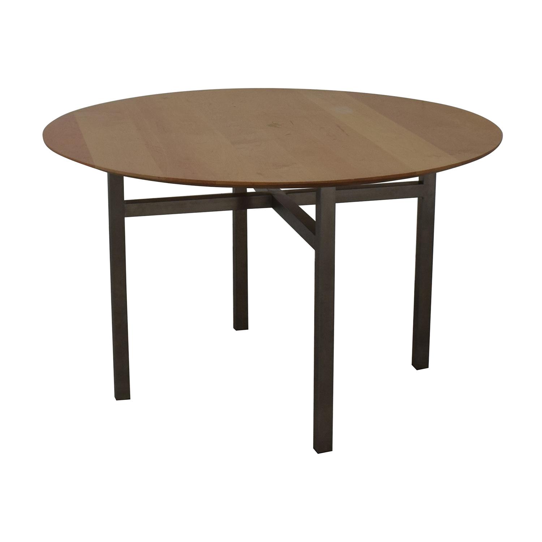 buy Room & Board Dining Table Room & Board Dinner Tables