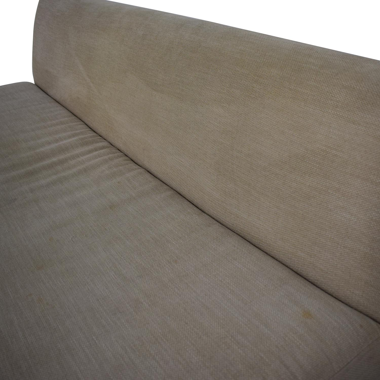 CB2 Armless Sofa / Sofas