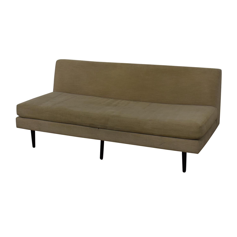 CB2 Armless Sofa / Classic Sofas