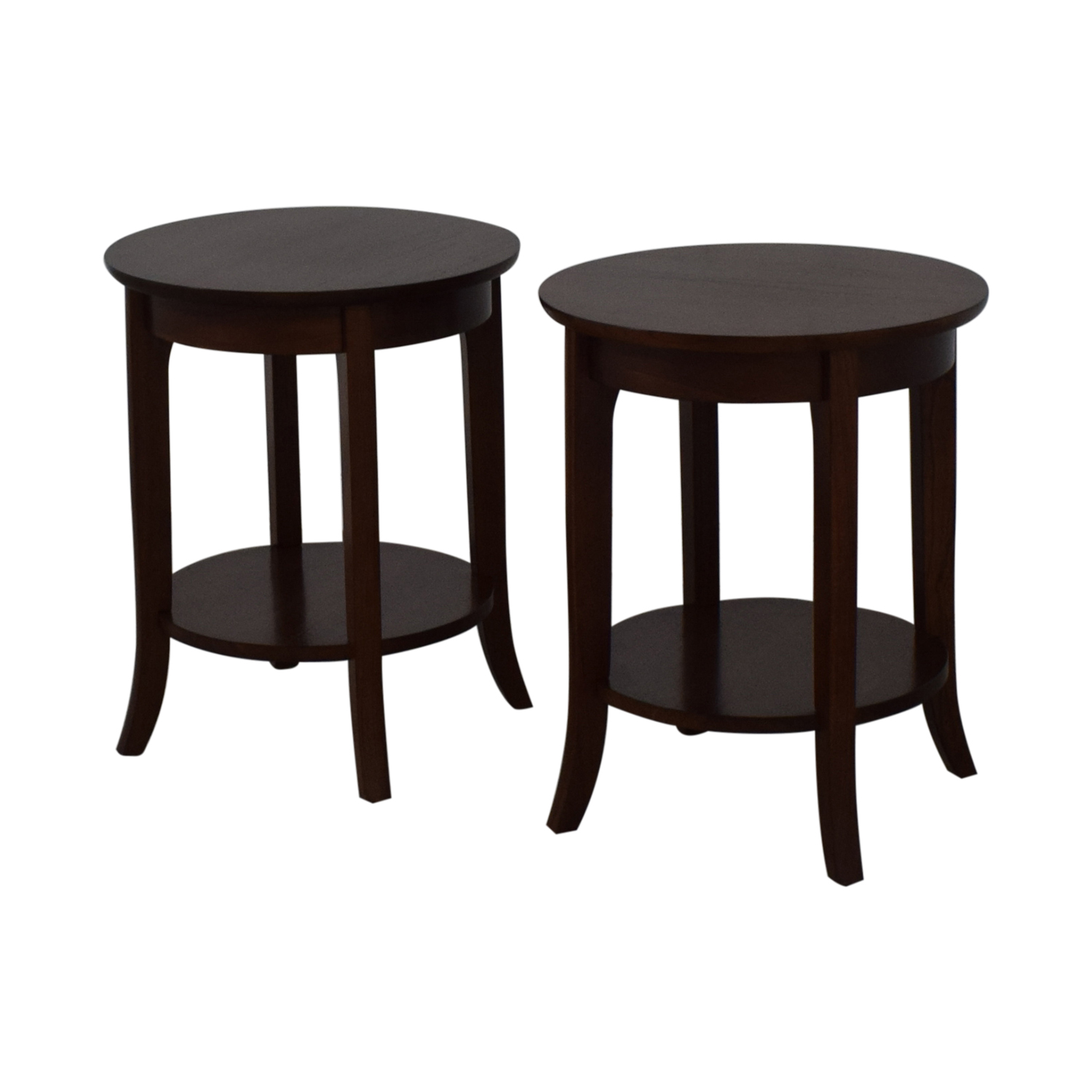 Pottery Barn Pottery Barn Side Tables brown