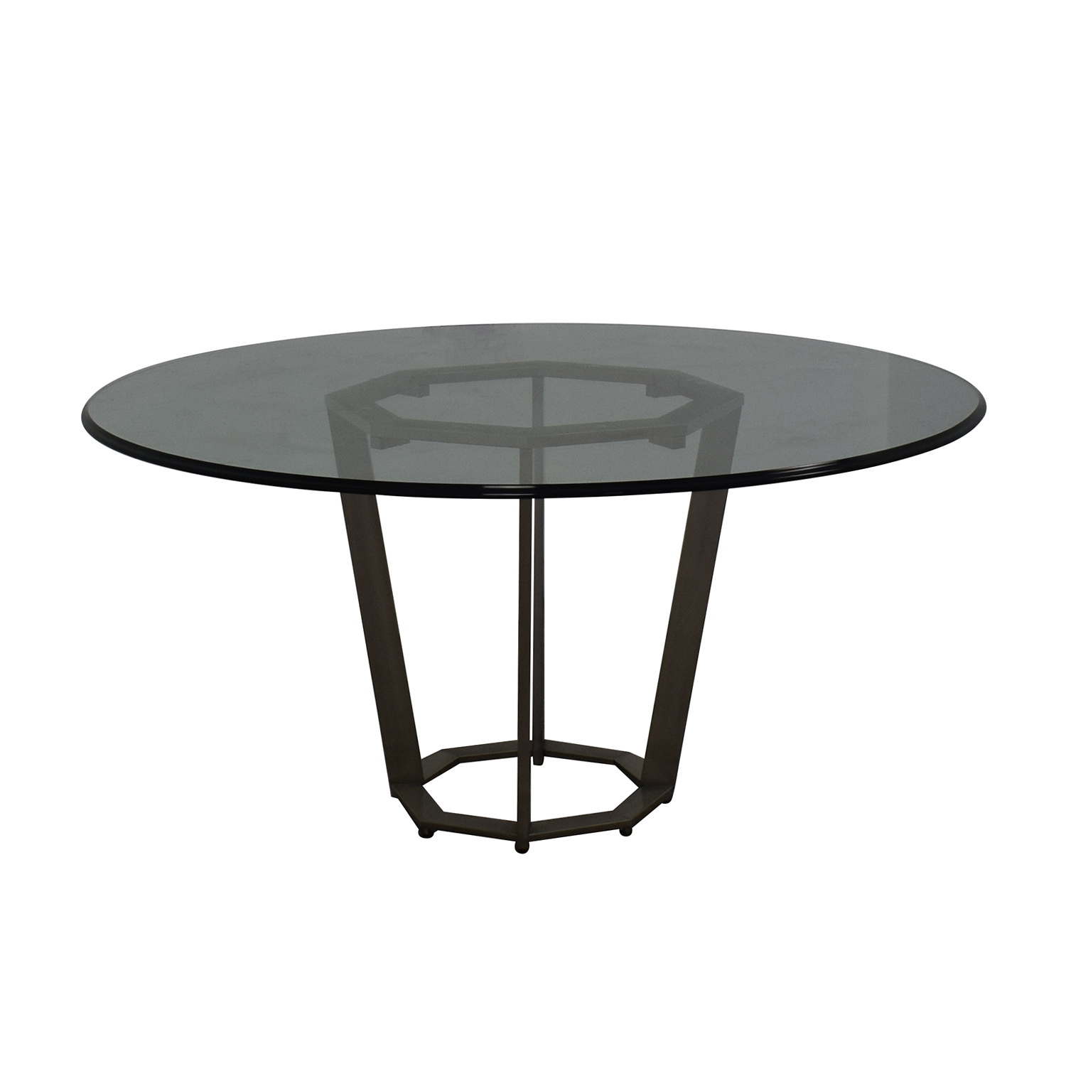 Round Glass Dining Table price