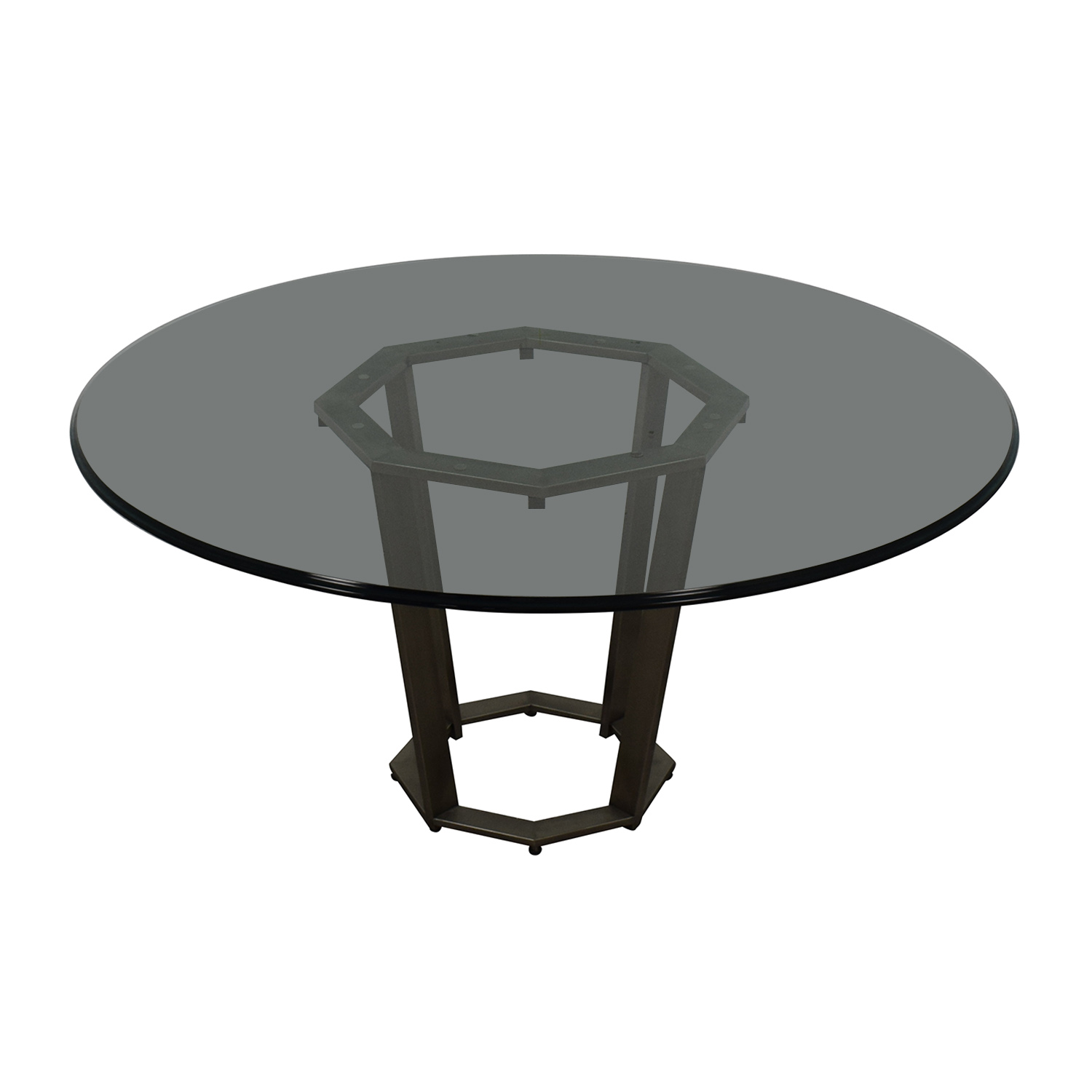 shop  Round Glass Dining Table online