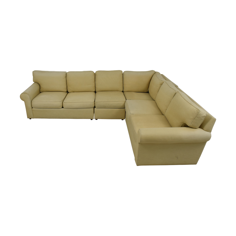 Ethan Allen Ethan Allen Sectional Sofa dimensions