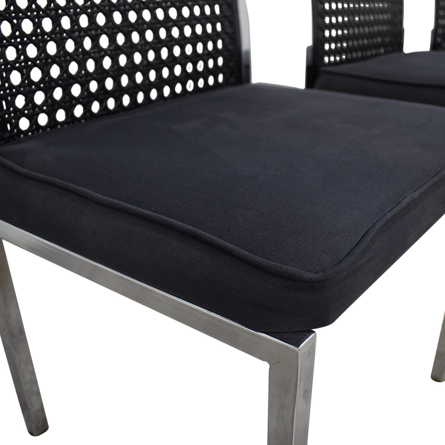 buy By Design Black Cane Back Chairs By Design Chairs