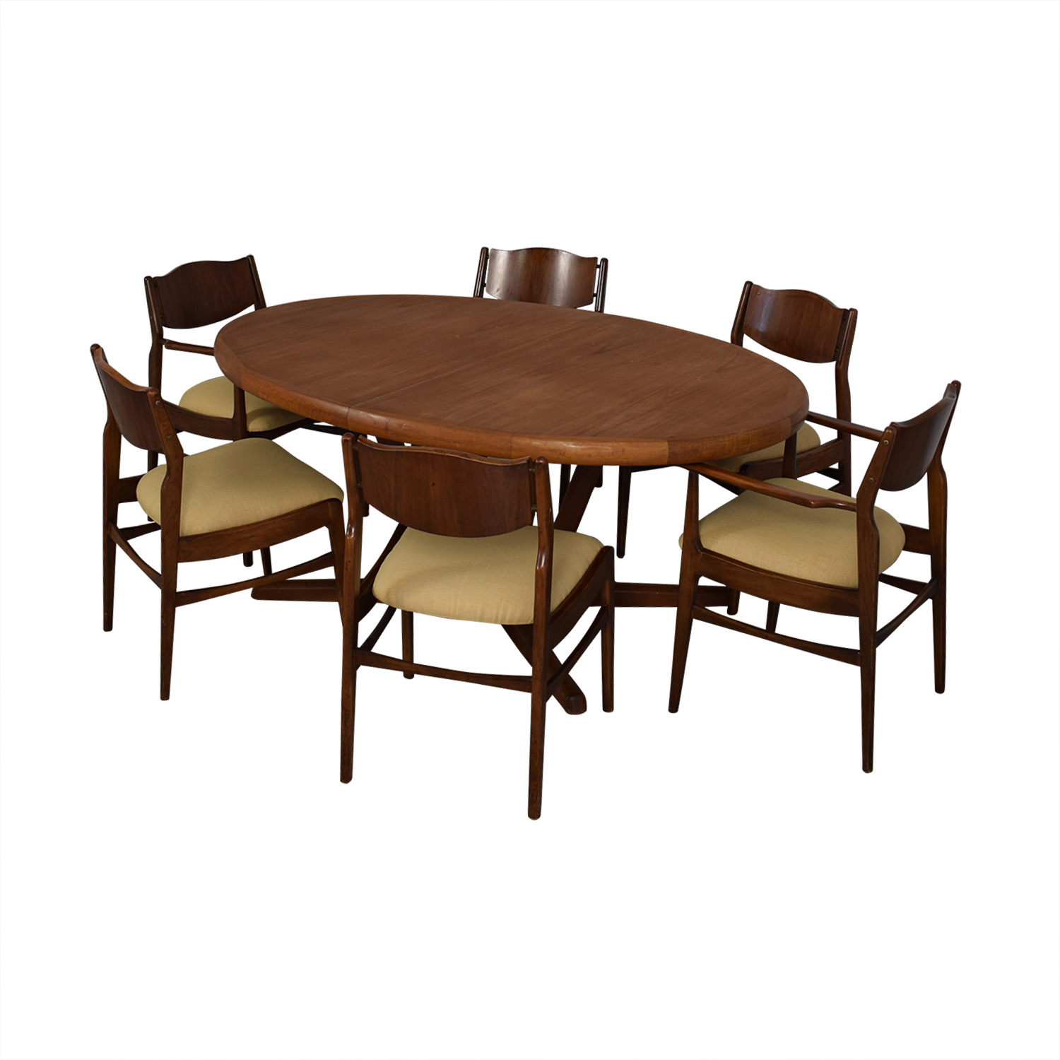 Mid Century Dining Set dimensions