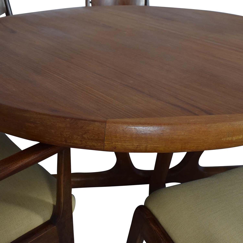 Mid Century Dining Set used