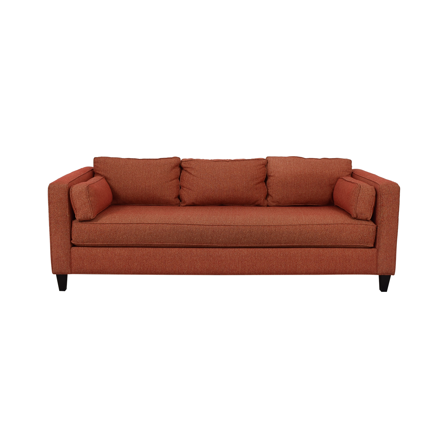 Younger Furniture Younger Furniture Single Cushion Sofa red