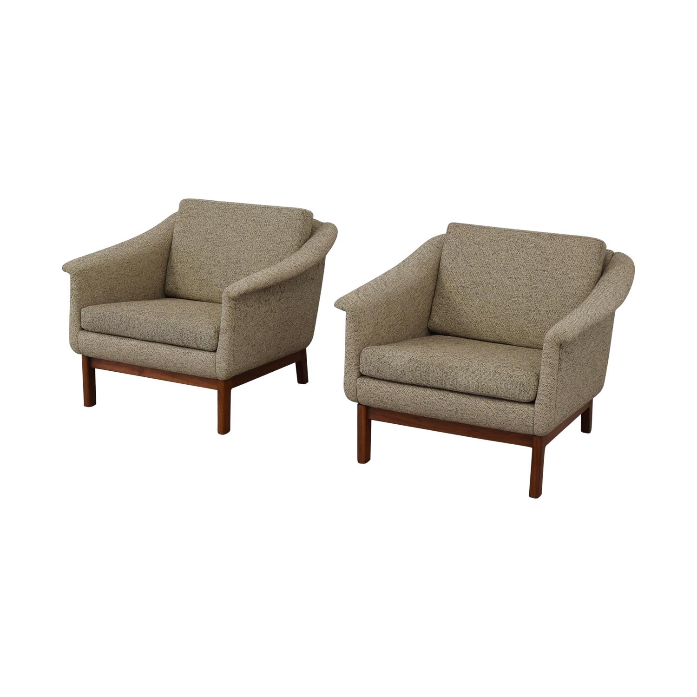 DUX Mid Century Lounge Chairs DUX