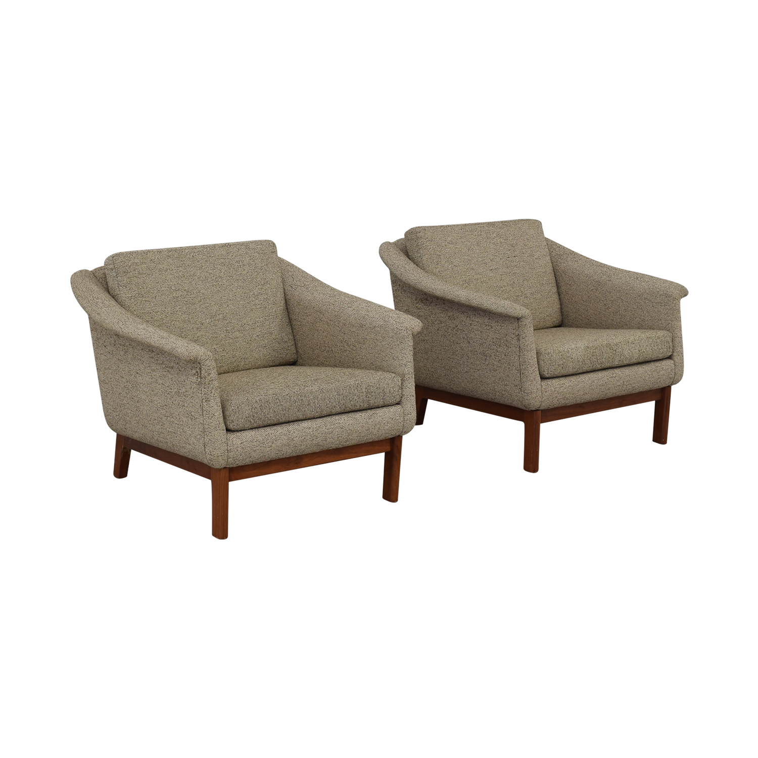 DUX DUX Mid Century Lounge Chairs nj