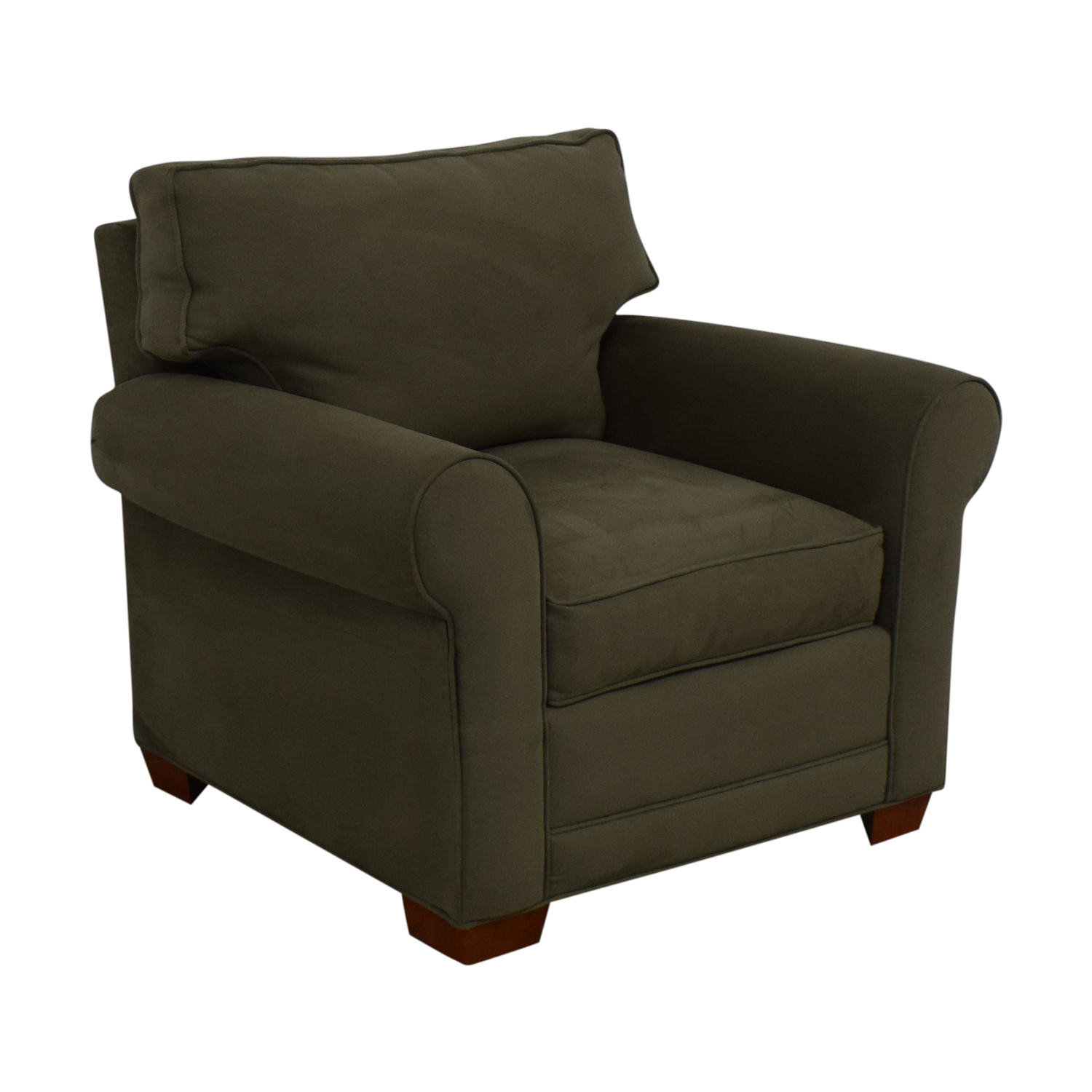 Raymour & Flanigan Raymour & Flanigan Green Accent Chair price