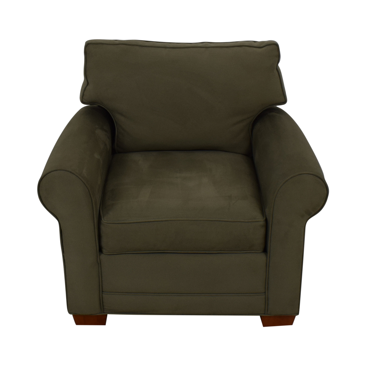 shop Raymour & Flanigan Green Accent Chair Raymour & Flanigan Chairs