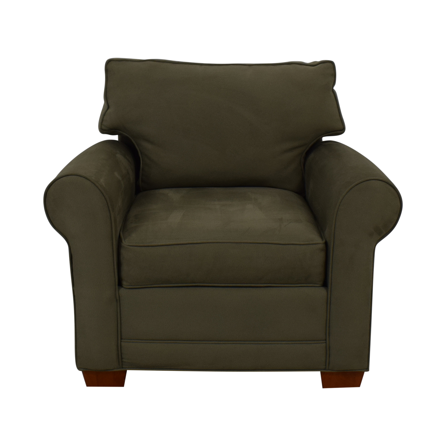 shop Raymour & Flanigan Raymour & Flanigan Green Accent Chair online