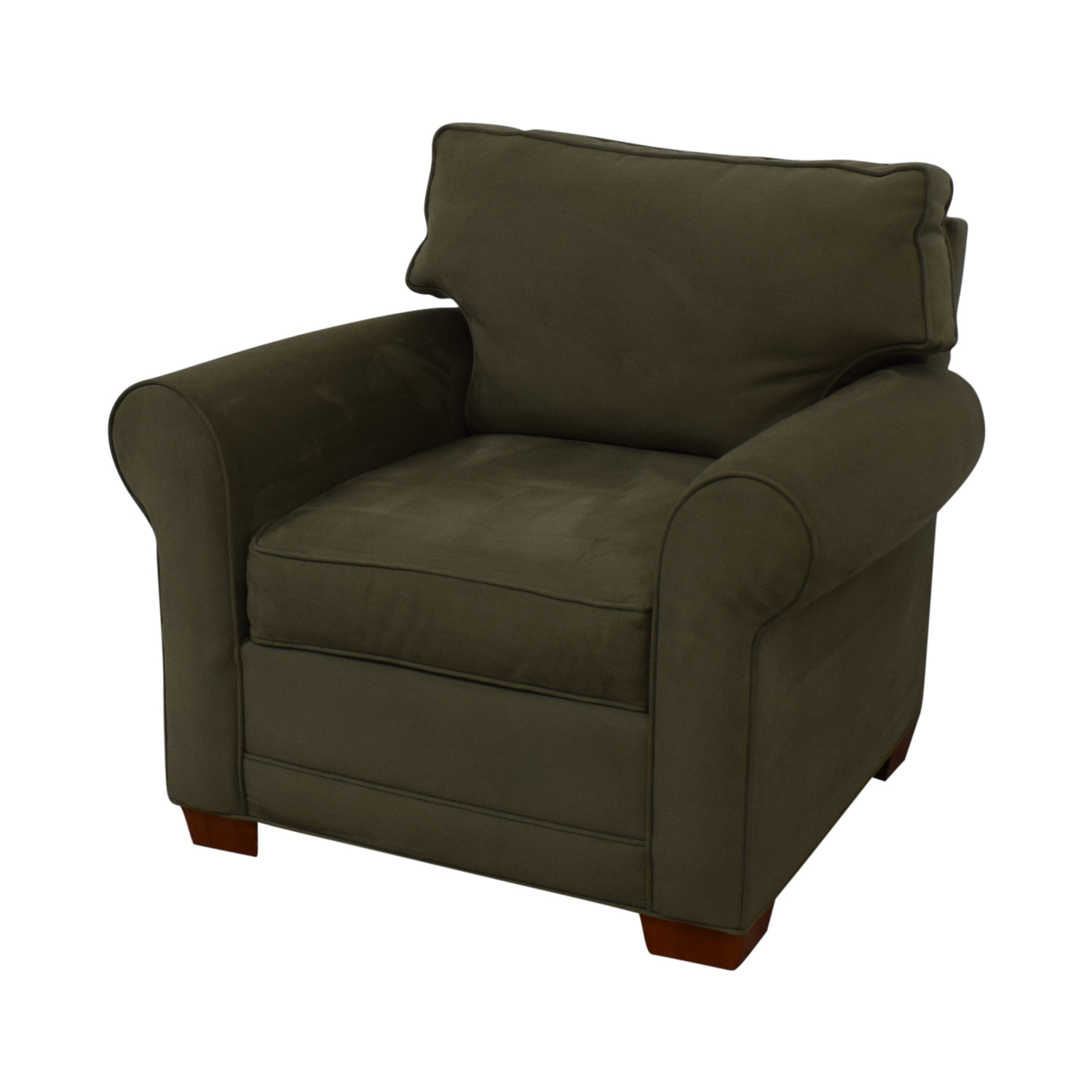 Raymour & Flanigan Raymour & Flanigan Green Accent Chair on sale