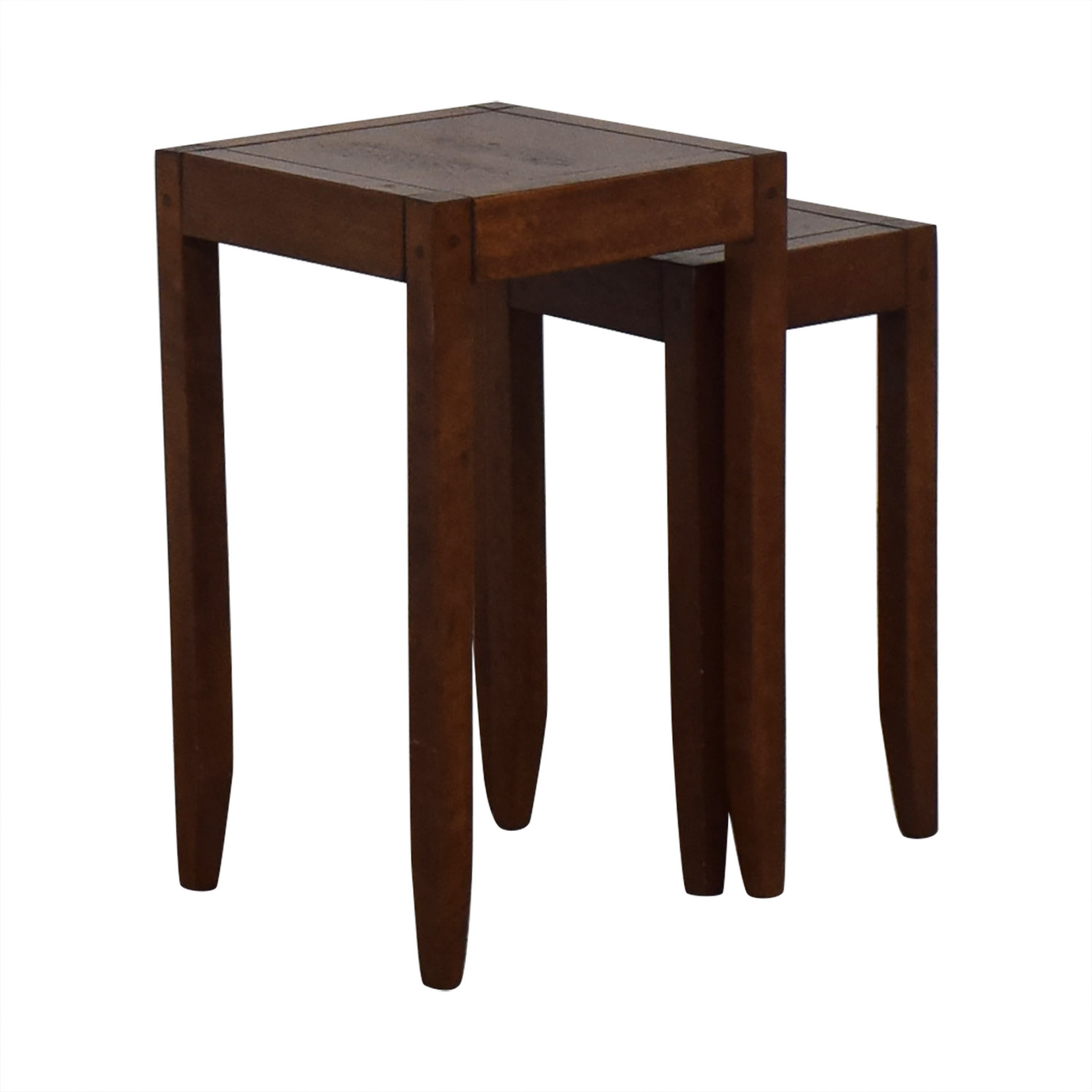 Nesting Accent Tables second hand