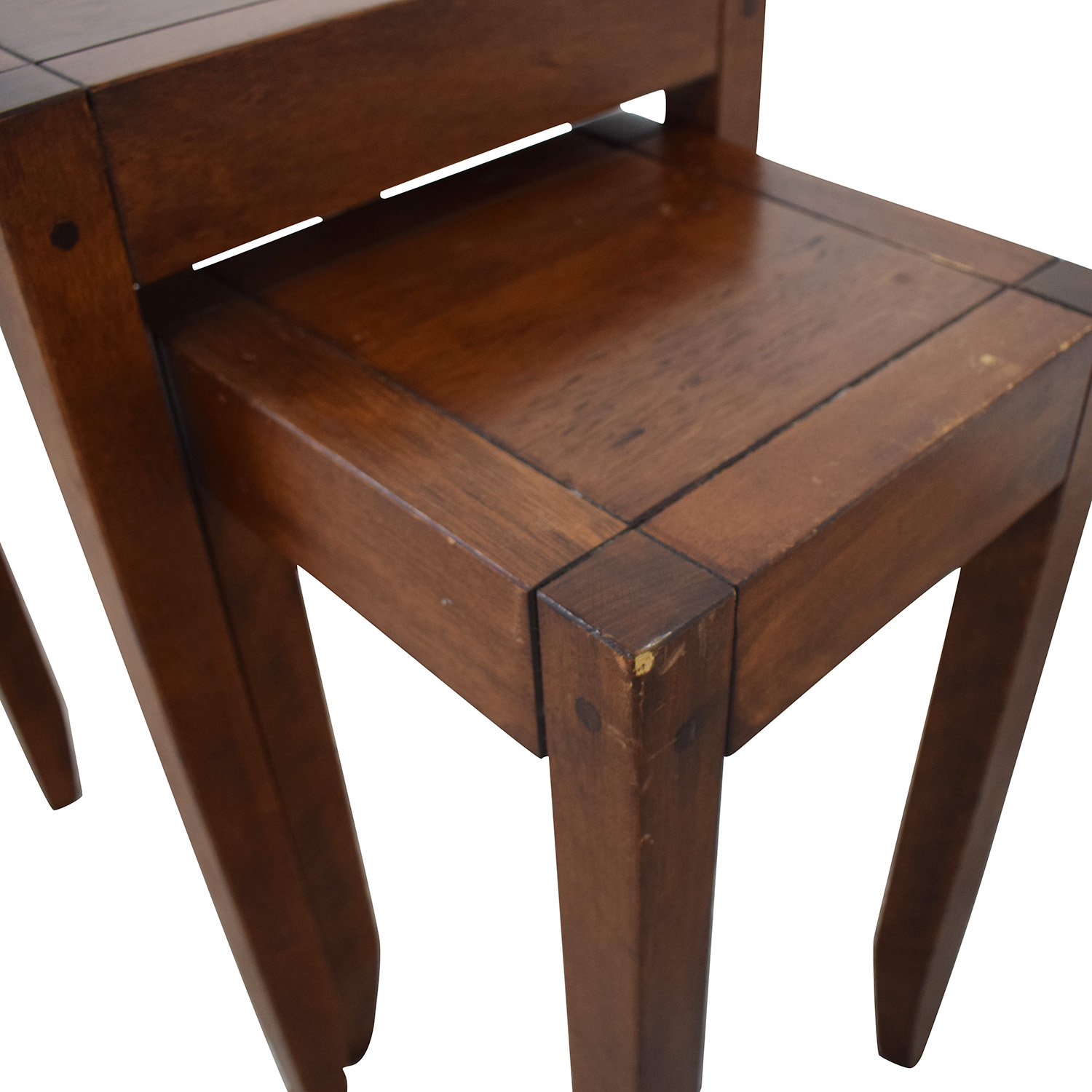 Nesting Accent Tables brown
