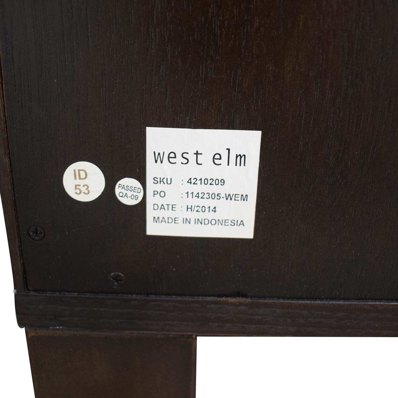 West Elm West Elm Four-Drawer Tower Dresser discount