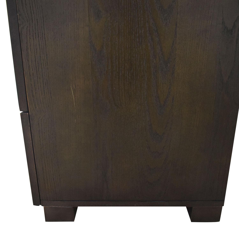 West Elm West Elm Four-Drawer Tower Dresser second hand