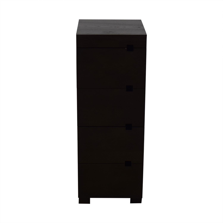 West Elm West Elm Four-Drawer Tower Dresser Dressers
