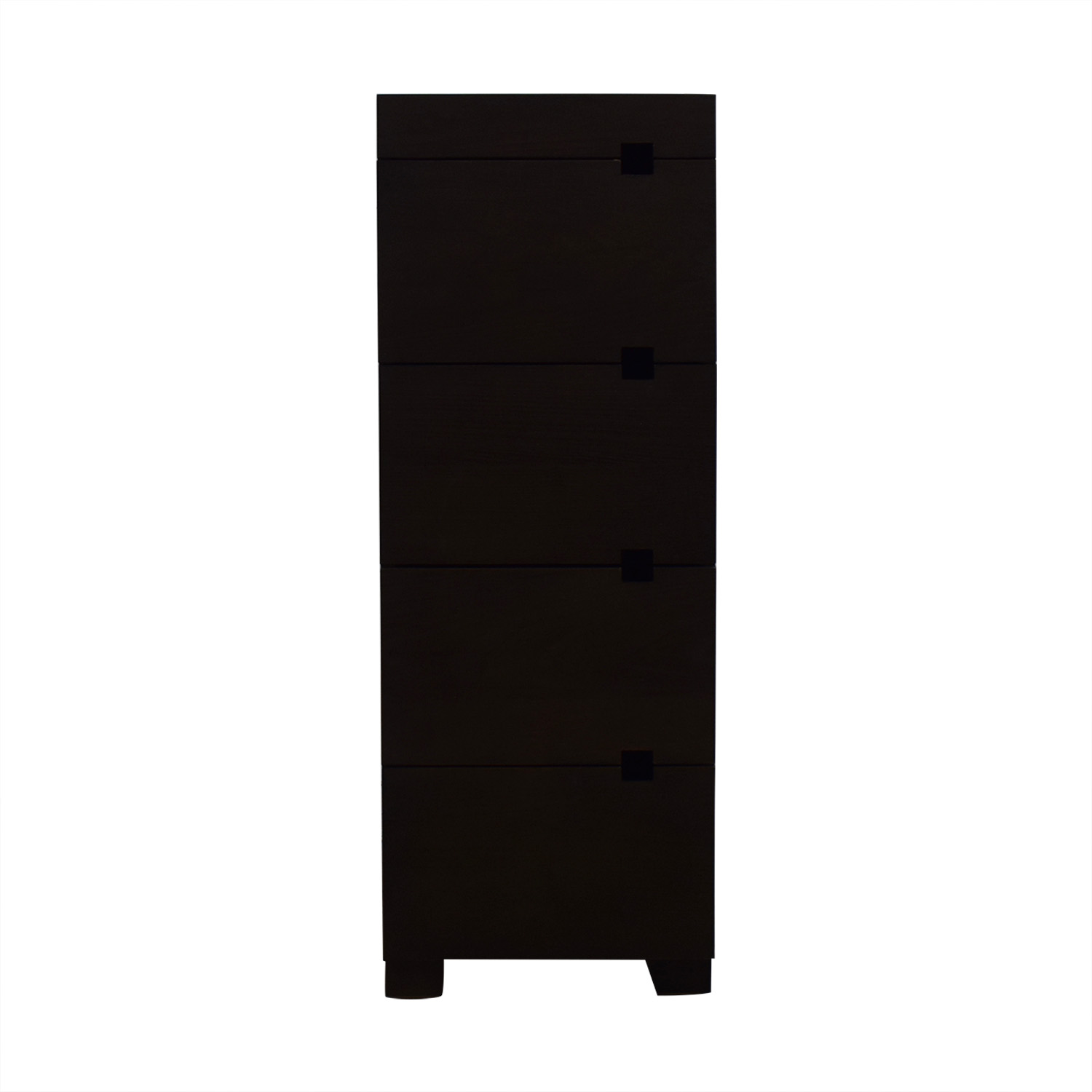 West Elm West Elm Four-Drawer Tower Dresser discount