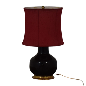 Mecox Gardens Mecox Gardens Christopher Spitzmiller Brown Lamp for sale