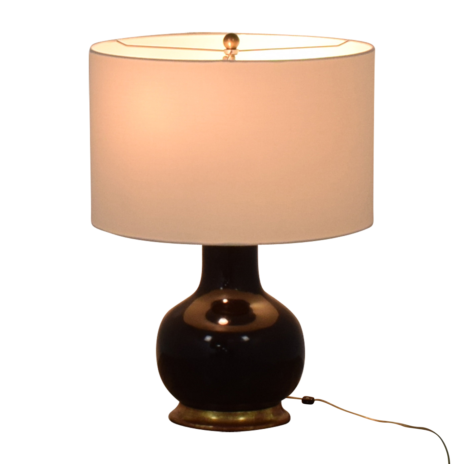 Mecox Gardens Mecox Gardens Christopher Spitzmiller Brown Lamps nyc