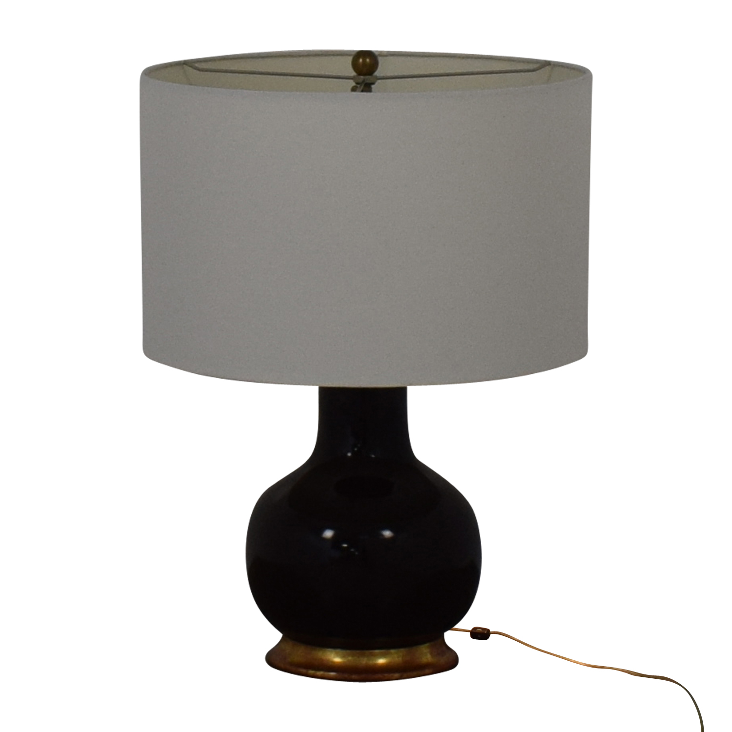 Mecox Gardens Mecox Gardens Christopher Spitzmiller Brown Lamps