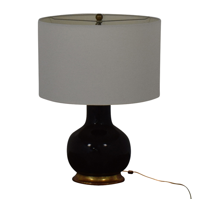 Mecox Gardens Mecox Gardens Christopher Spitzmiller Brown Lamp second hand