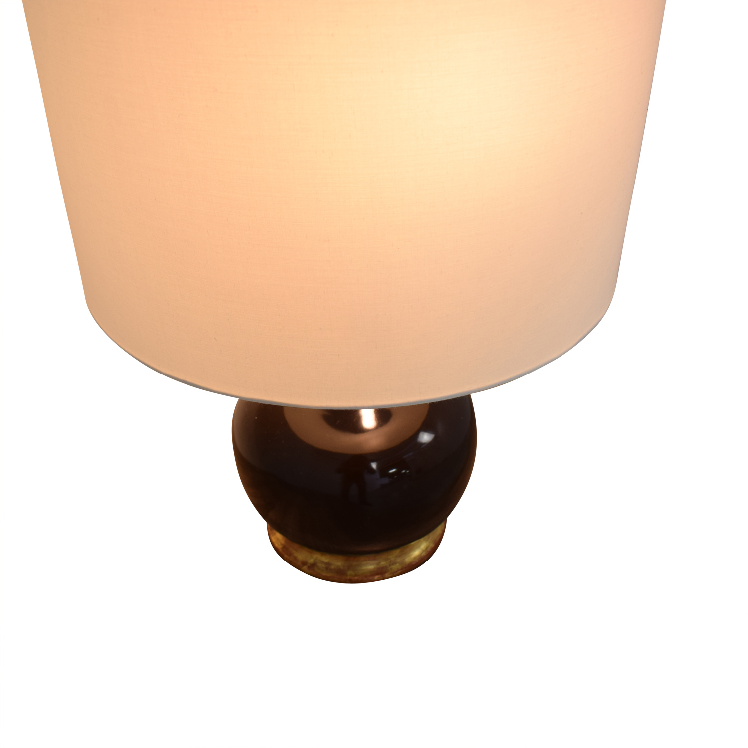 Mecox Gardens Christopher Spitzmiller Brown Lamps / Lamps