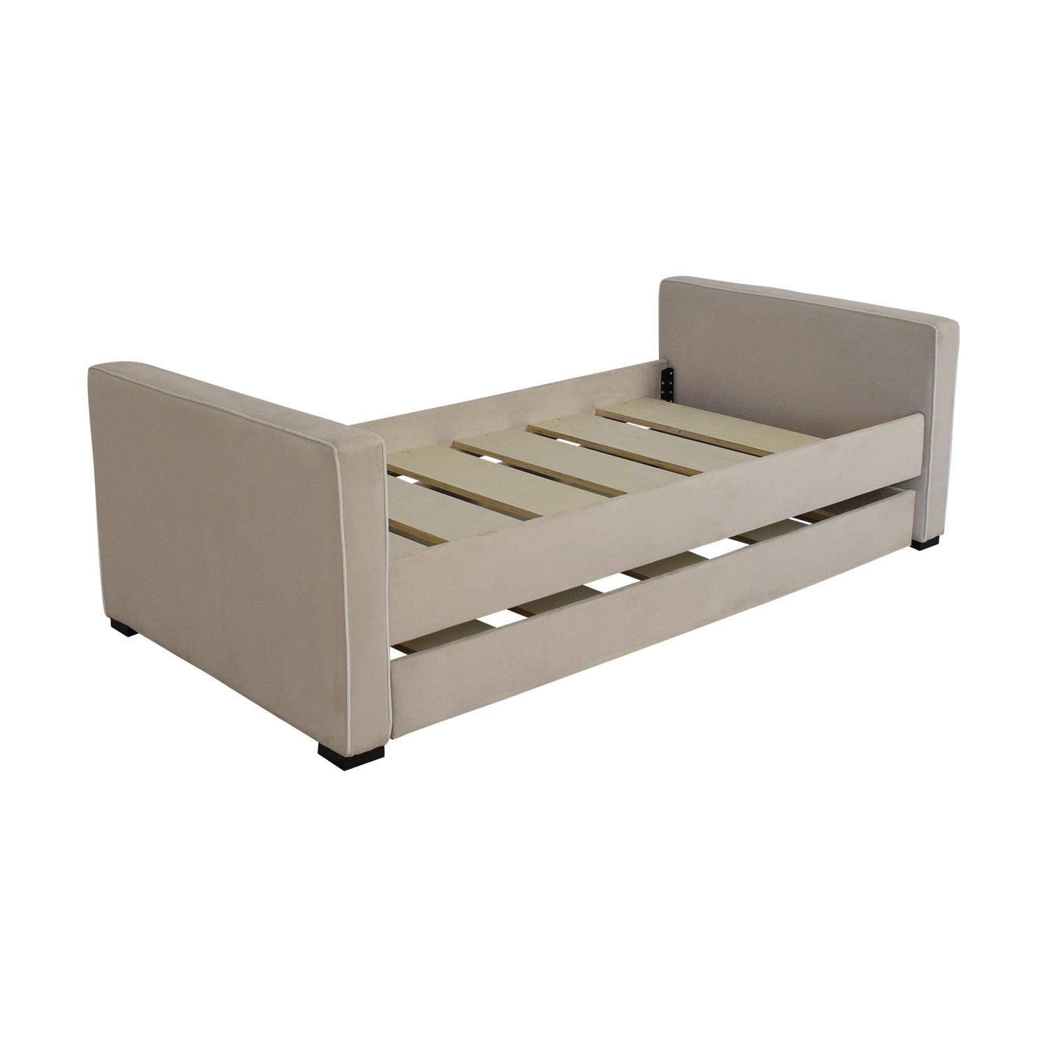 shop Monte Design Dorma Twin Bed With Trundle Monte Design Bed Frames