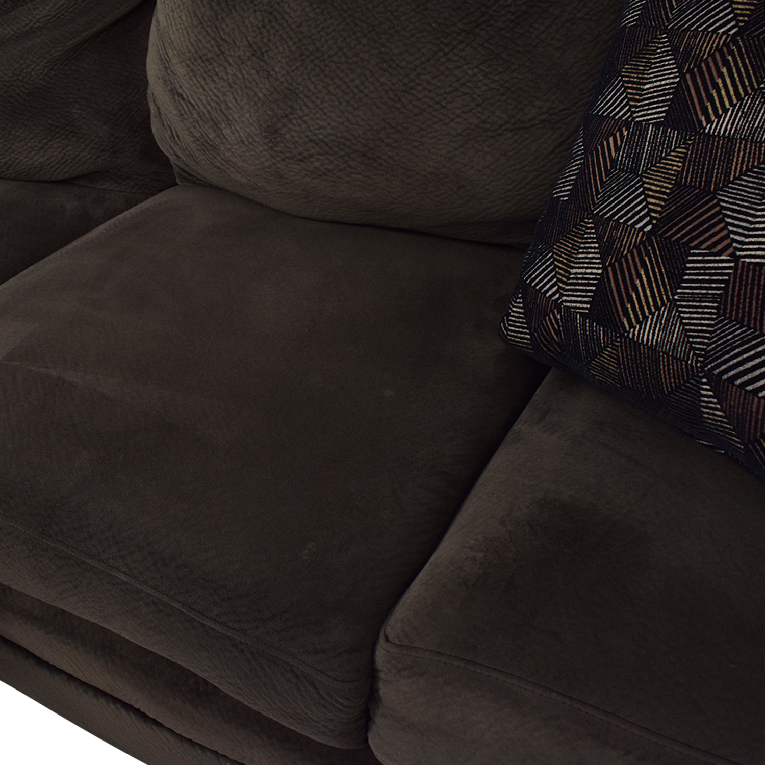 shop Macy's Mocha Sectional Couch Macy's