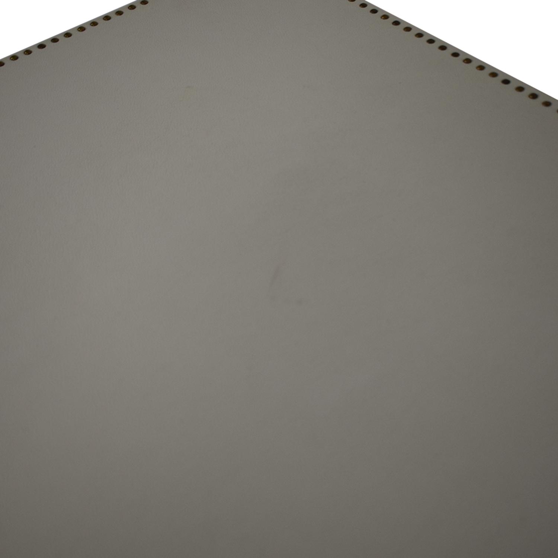 shop Restoration Hardware Nailhead Upholstered Dresser Restoration Hardware Storage
