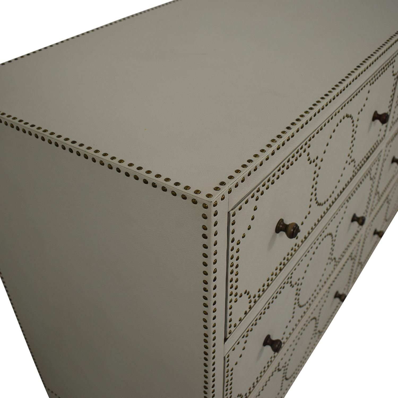 Restoration Hardware Restoration Hardware Nailhead Upholstered Dresser price